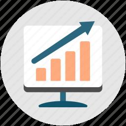 analysis, analytics, business, growth, performance, productivity, statistics icon