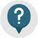 ask, bubble, mark, qa, question, quiz icon