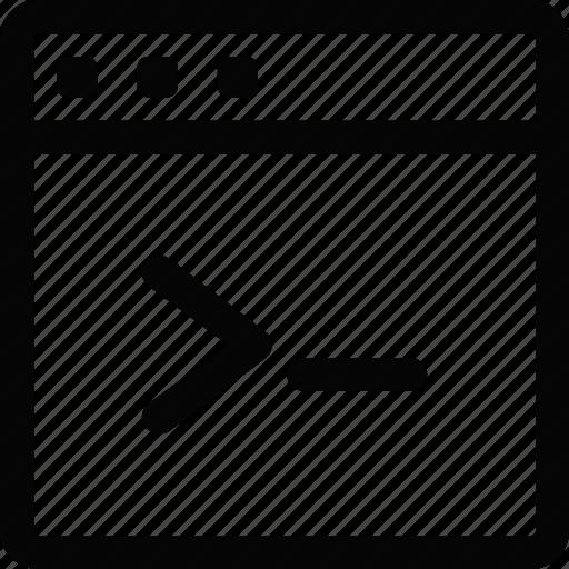 cmd, interface, window icon