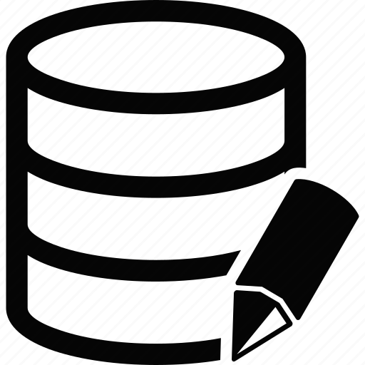 database, write icon