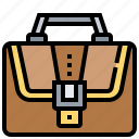 bag, baggage, briefcase, luggage, portfolio icon