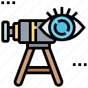 focus, recruitment, search, target, vision icon