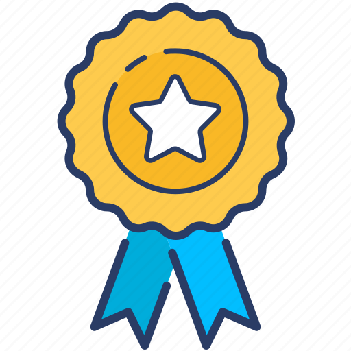 award, badge, label, premium, quality, service, star icon icon