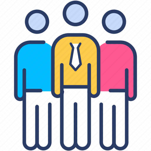 Businessman, group, leader, leadership, people icon, team, teamwork icon - Download on Iconfinder