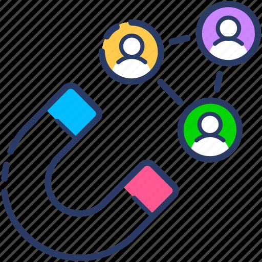 acquisition, customer, customer acquisition, customer retention icon icon