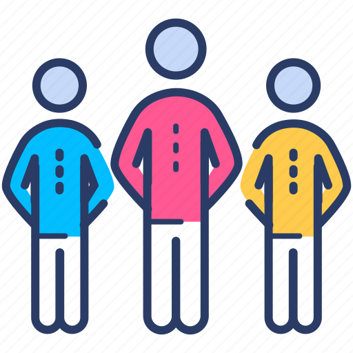 business, group, leader, leadership, people, team icon icon