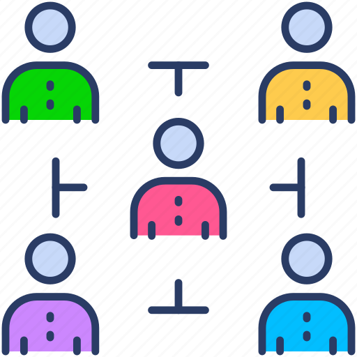 clients, co founder, customers, partners, partnership, team icon icon