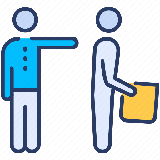 fired, getting, getting fired, job, resign, resignation, termination icon icon