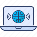 data icon, internet, marketing, online promotion, search engine, traffic, web page
