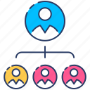 business hierarchy, ceo icon, corporate hierarchy, human pyramid, human resources, teamwork