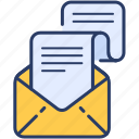email, job, job letter, letter, message icon icon