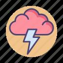 brainstorm, brainstorming, cloud, thunder, thunderstorm