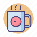 break, coffee icon