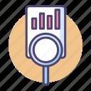 analysis, data, data analysis, data analytics, research, statistics icon