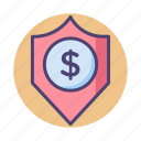 funds, funds protection, protection, safety icon