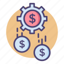 earn, earning, earnings, income, money, profit, sales icon