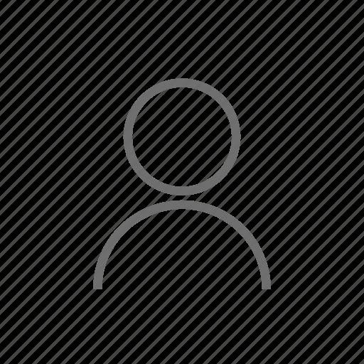 account, avatar, customer, human, person, profile, user icon