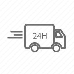 delivery, ecommerce, order, send, shipping, transportation, vehicle icon