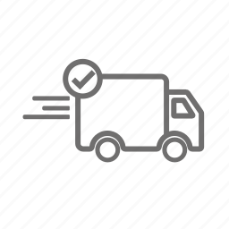 delivery, order, package, send, shipping, shopping, vehicle icon