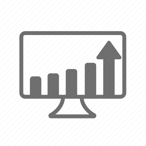 analysis, business, finance, financial, graph, sales, statistics icon