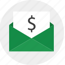 data, envelope, mail, send icon