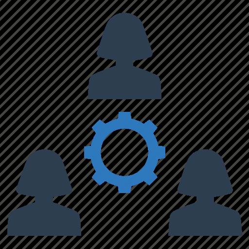 Management, planning, teamwork icon - Download on Iconfinder