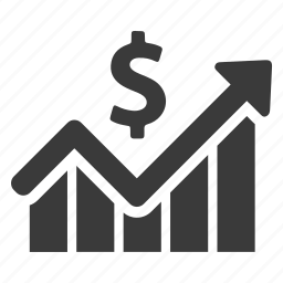 analytics, business, chart, graph, income, increase, profit icon