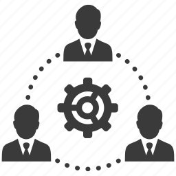business, cog, gear, group, management, people, teamwork icon