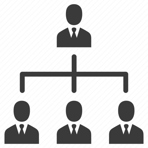 business, group, hierarchy, management, men, people, seo, users icon