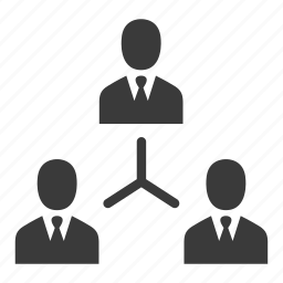 business, businessmen, connection, group, people, team, users icon