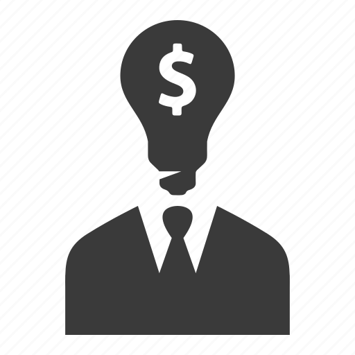 Bulb, businessman, idea, man, opportunity, user icon - Download on Iconfinder