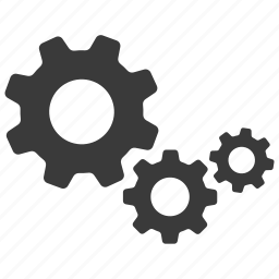 cogs, configure, gears, options, preferences, settings icon