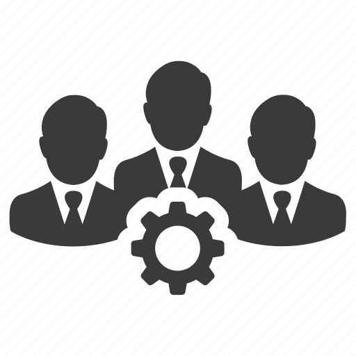 business, gear, group, people, team, teamwork, users icon