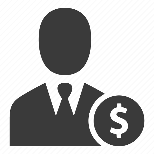 avatar, business, cash, finance, money, user icon