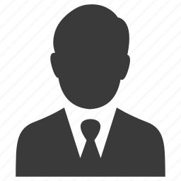 avatar, business, businessman, person, user icon
