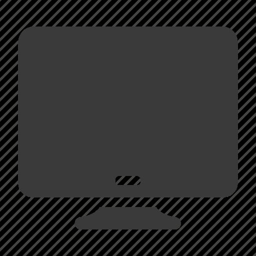 computer, monitor, pc, screen, tv icon