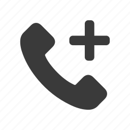 add, call, dial, new, phone, telephone icon