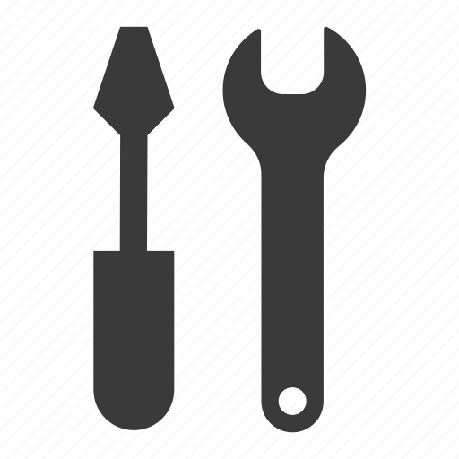 mechanic, repair, screwdriver, tool, tools, wrench icon