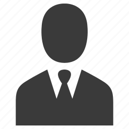 account, business, businessman, person, user icon