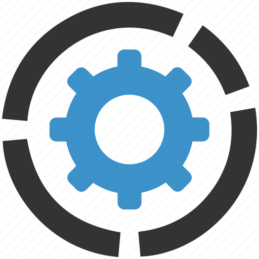cog, gear, management, productivity, progress, settings, support icon
