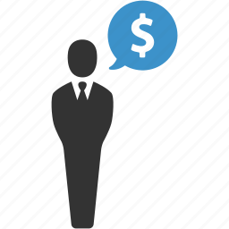 businessman, dollar, earnings, finance, funding, income, money icon