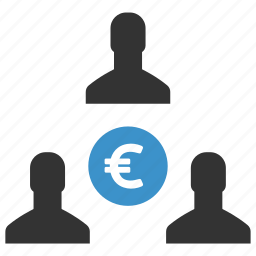 earnings, euro, income, money, payouts, profit, salary icon