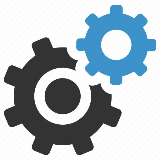cogs, configuration, gears, options, process, settings, support icon