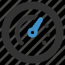 dashboard, gauge, performance, productivity, speed, speedometer, technology icon