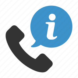 call, dial, help, info, information, support, telephone icon