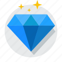 brilliant, business, diamond, jewel, jewelry, rich, unique icon