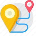 business, location, map, navigation, seo, travel icon