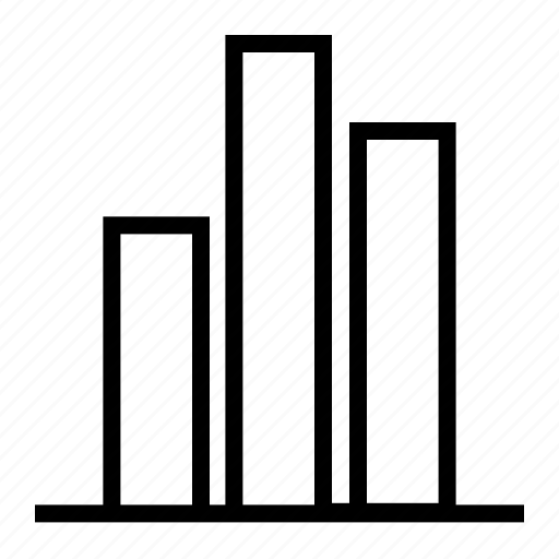 bar, business, chart, finance, graph icon
