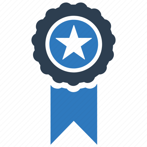 Achievement, award, best quality, ribbon icon - Download on Iconfinder