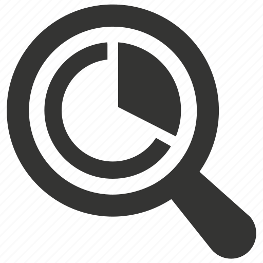analysis, analytics, marketing, report, research, search icon